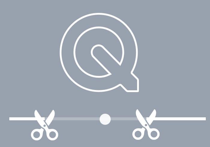 QuickTime 內建影片剪輯功能,影片去頭去尾超簡單
