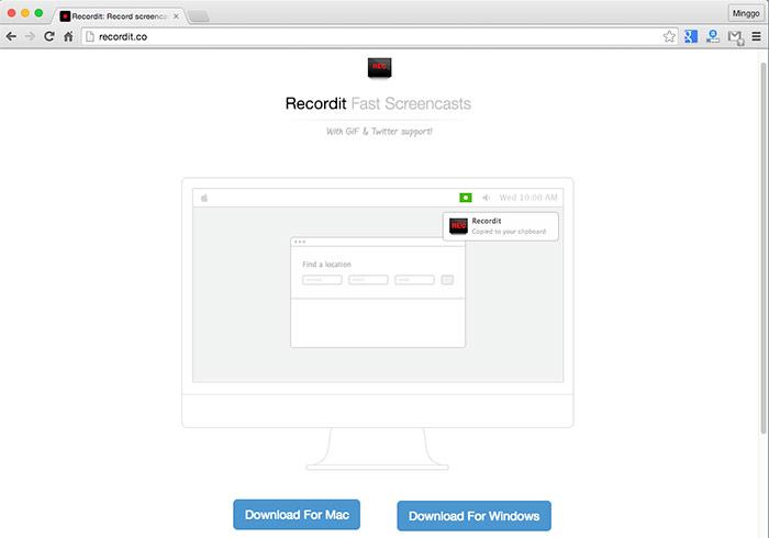 梅問題-Recordit支援雙平台GIF螢幕錄影軟體,並自動上傳到雲端
