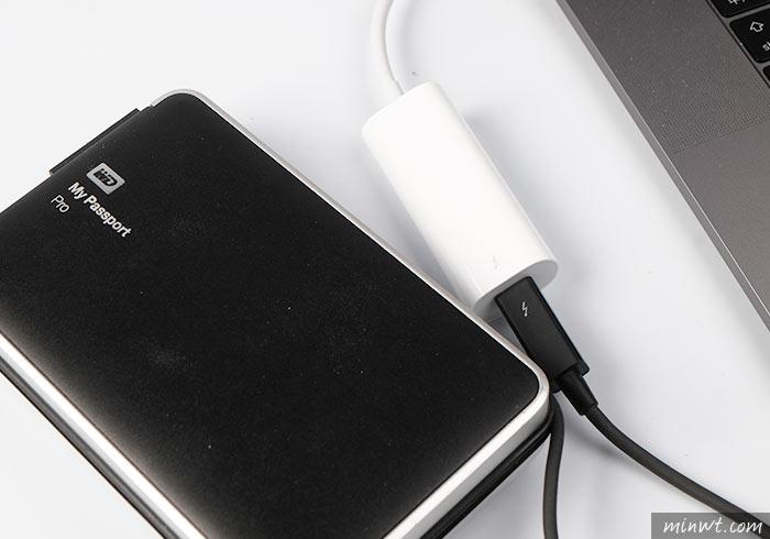 梅問題-Apple原廠Type-C轉Thunderbolt2讓老舊的設備可繼續沿用