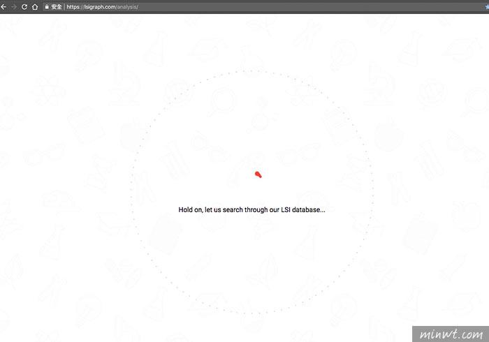 梅問題-Lsigraph 關鍵字搜尋器,讓你也能準精掌握關鍵字的技巧