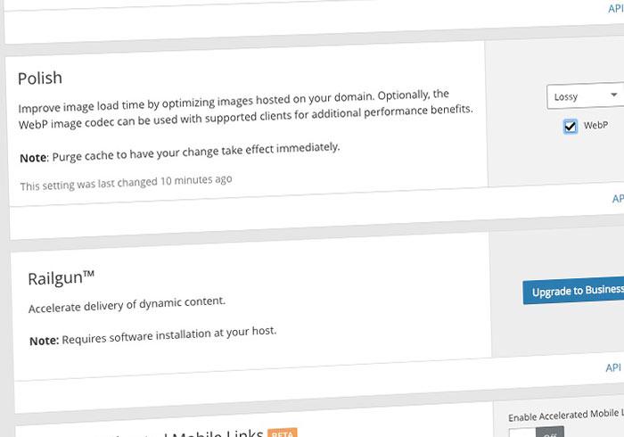 CloudFlare Pro 支援網站圖片轉WebP與壓縮40%以上,讓網站開啟速度變更快