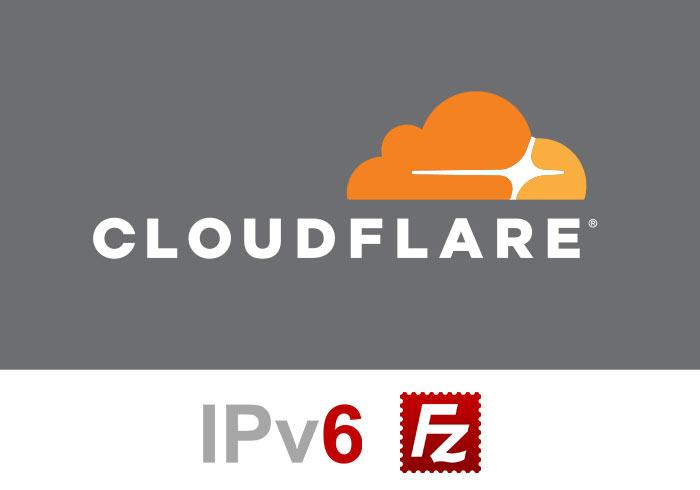 [教學] CloudFlare指定IPV6位置與FileZilla設定IPV6連線並上傳檔案