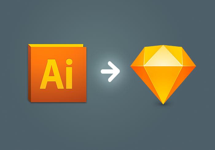 將Illustrator繪製好的UI圖示,匯入到Sketch專案中與整理