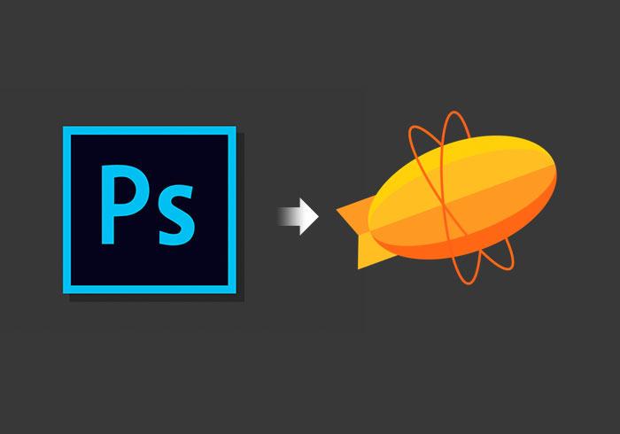 Photoshop安裝Zeplin外掛套件,並將設計好的版型匯入到Zeplin的專案