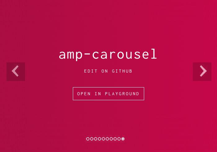 [教學] amp-carousel 讓AMP網頁也支援圖片輪播特效