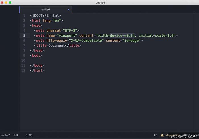 梅問題-ATOM 免費跨平台網頁編輯器,支援即時預覽HTML頁面
