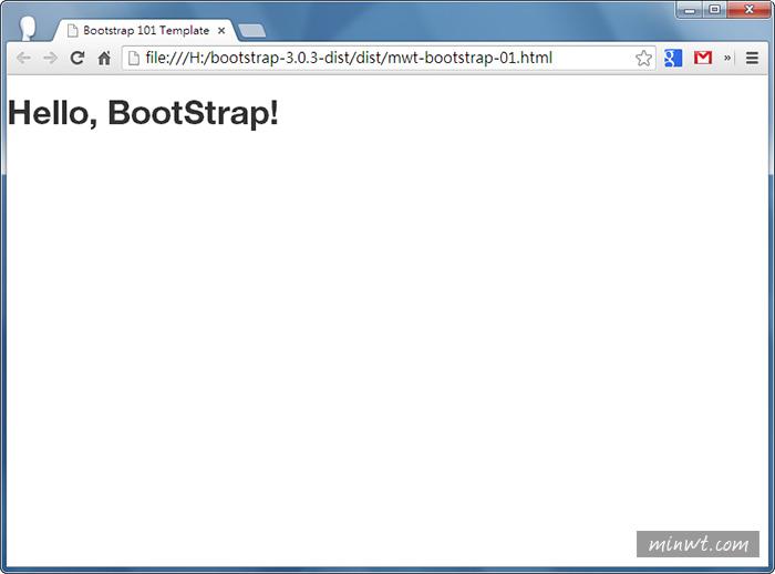 梅問題-網頁套件《BootStrap》打造Responsive Web Design自適應版型入門