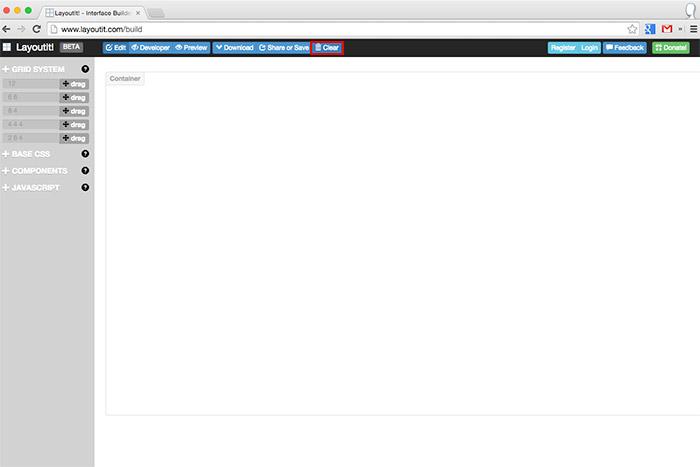 梅問題-《LayoutIt!》線上Bootstrap視覺化操作的版型編輯器