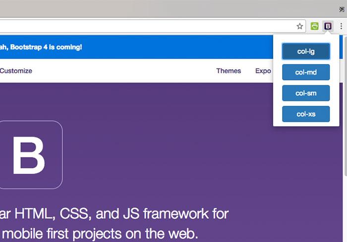 梅問題-「Bootstrap3 Resize Tool」Bootstrap自適應網頁螢幕解版型析檢測工具