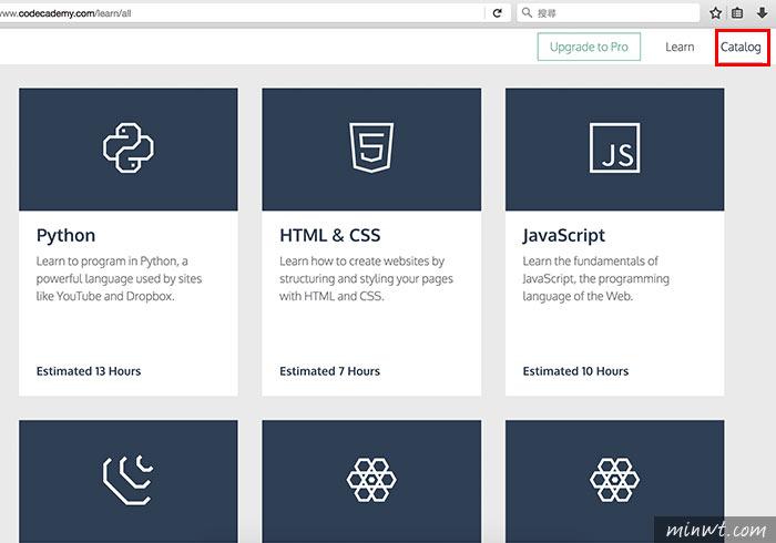 梅問題-Codecademy 線上一步一步帶著你學會,網頁的各種語言(JavaScript、jQuery、PHP、Python、HTML/CSS、Ruby)