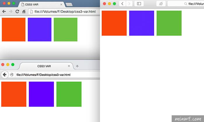 梅問題-CSS3教學-CSS3新增自訂變數屬性的功能