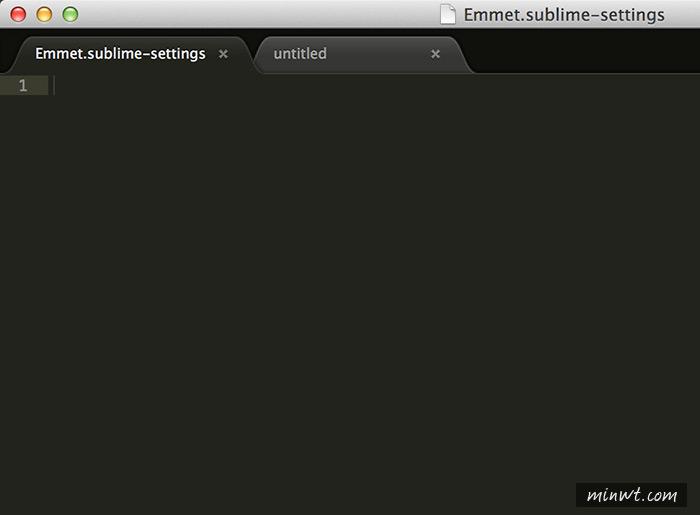 梅問題-《Sublime Text》自訂Emmet常用的網頁標籤語法並快速輸出