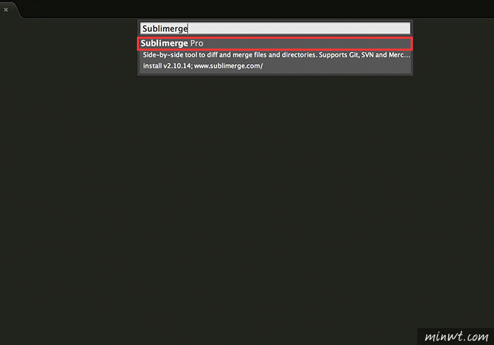 梅問題-Sublime Text外掛 - Sublimerge一鍵快速比對出兩個檔案的內容差異