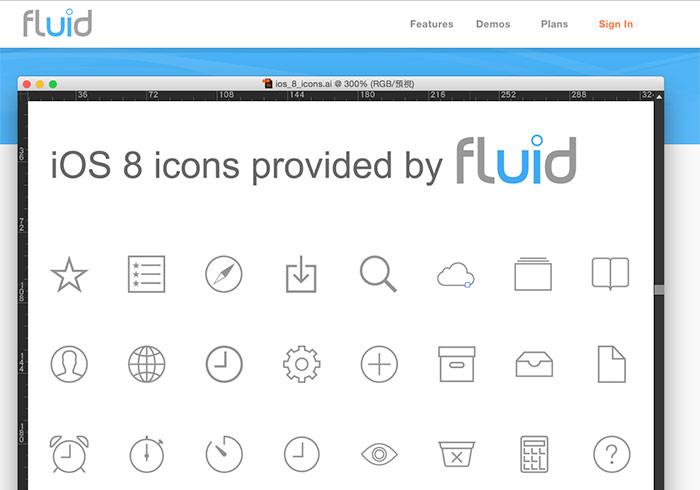 梅問題-網設必備《Fluid》iOS/Android扁平圖示下載