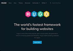 Hugo 具備佈景主題與Sitemap,快速打造HTML靜態網站