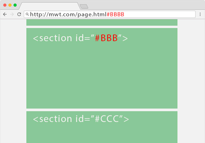Bootstrap滾動頁籤加入hash動態變換網址,更有助於SEO