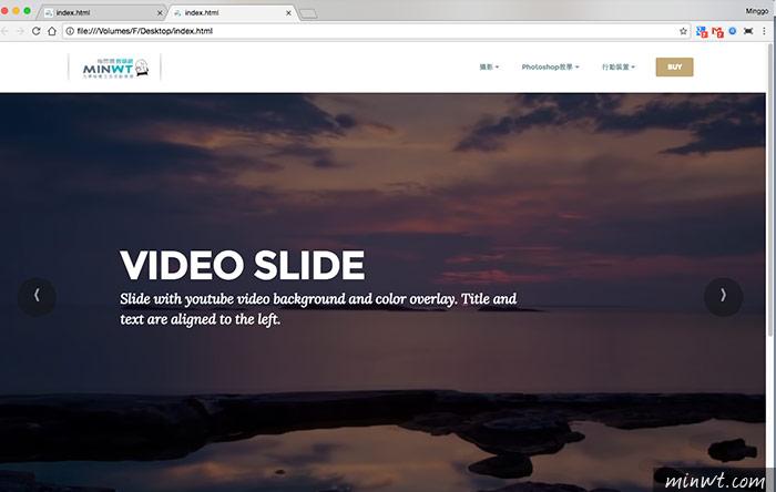 梅問題-「Mobirise」拖拉就可快速完成精美的RWD自適網頁工具
