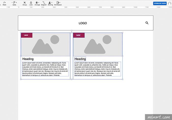 梅問題-Moqups HTML5網設必備的網頁線框圖設計工具