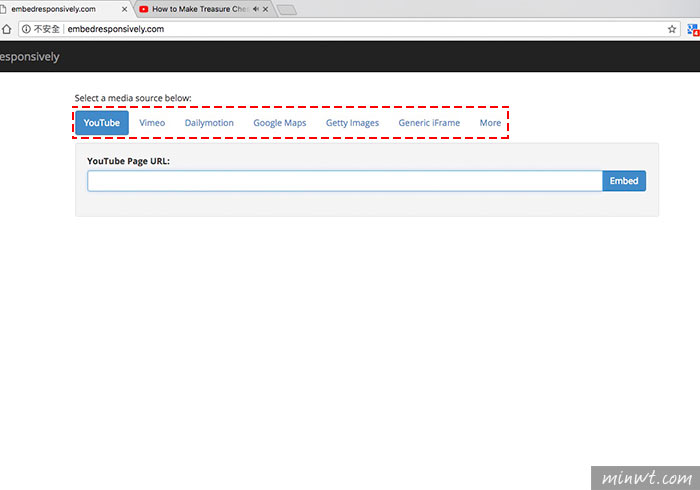 梅問題-[工具] Embed Responsively線上iframe嵌入網站自適應產生器(YouTube、Vimeo、Dailymotion、Google Maps)