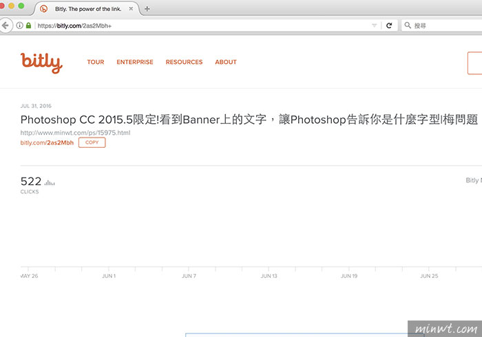 梅問題-Bitly、Google短網址的隱藏密技,立即顯示短網址的流量&點擊率