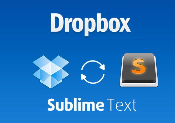 梅問題-利用Dropbox同步Sublime Text外掛套件與設定