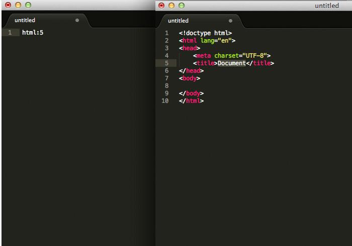 梅問題-網設工具-《Sublime Text》二隻外套件讓你快速產生HTML5網頁範本