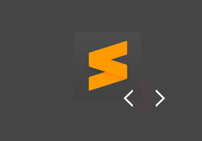 解決Sublime Text自訂程式片段,$符號被吃掉的問題