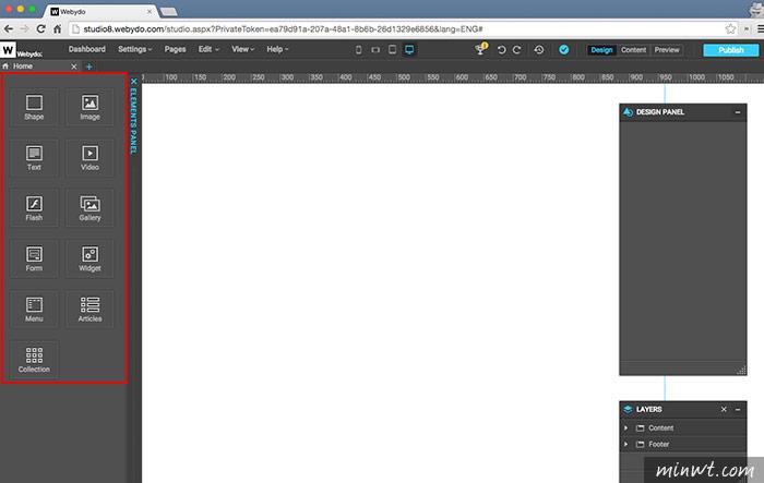 梅問題-Webydo線上版網頁編輯器,不會語法也能輕鬆製作出酷炫的RWD自適應網頁