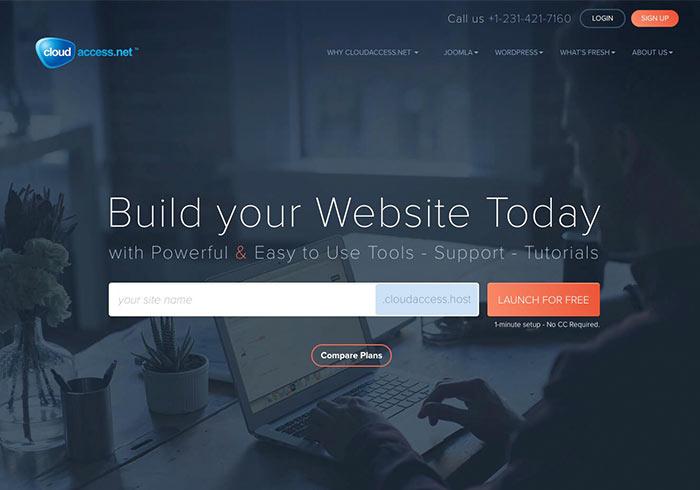 CloudAccess 免費WordPress虛擬主機申請與使用教學