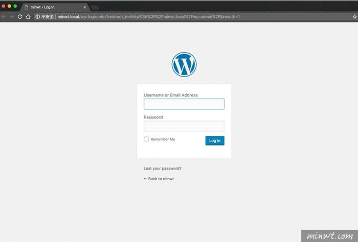 梅問題-Local WordPress 一鍵快速在本機架設好WordPress,同時支援外連與SSL安全加密