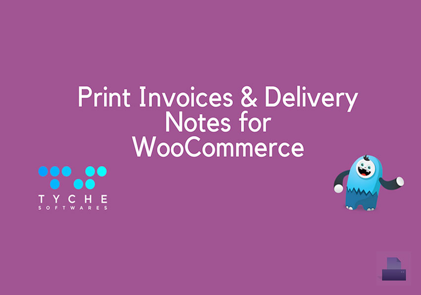 Woocommerce 列印出貨訂單明細 Print Invoice & Delivery Notes